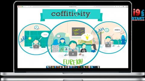 Empreenda e receba inspiração para criar: Coffitivity